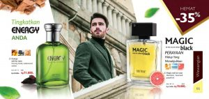 Parfum energy magic black My way indonesia