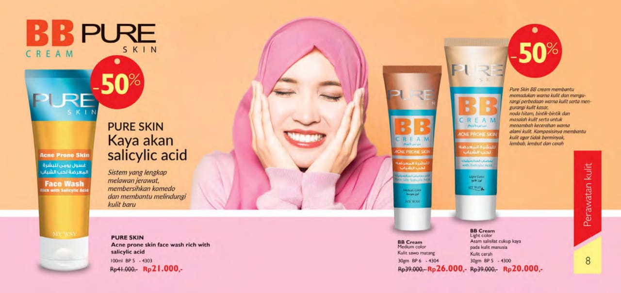 BB Cream Pure Skin My Way Indonesia