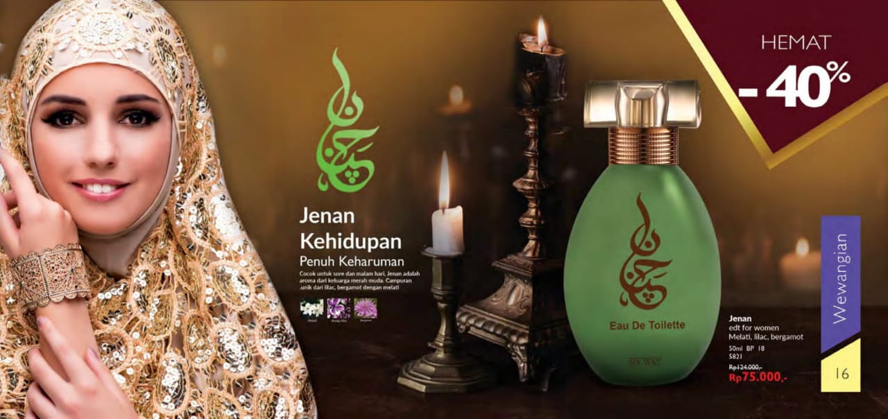 Parfum Jenan My Way Indonesia