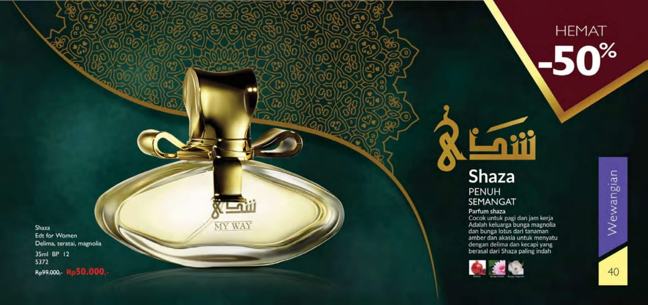 Parfum Shaza My way indonesia