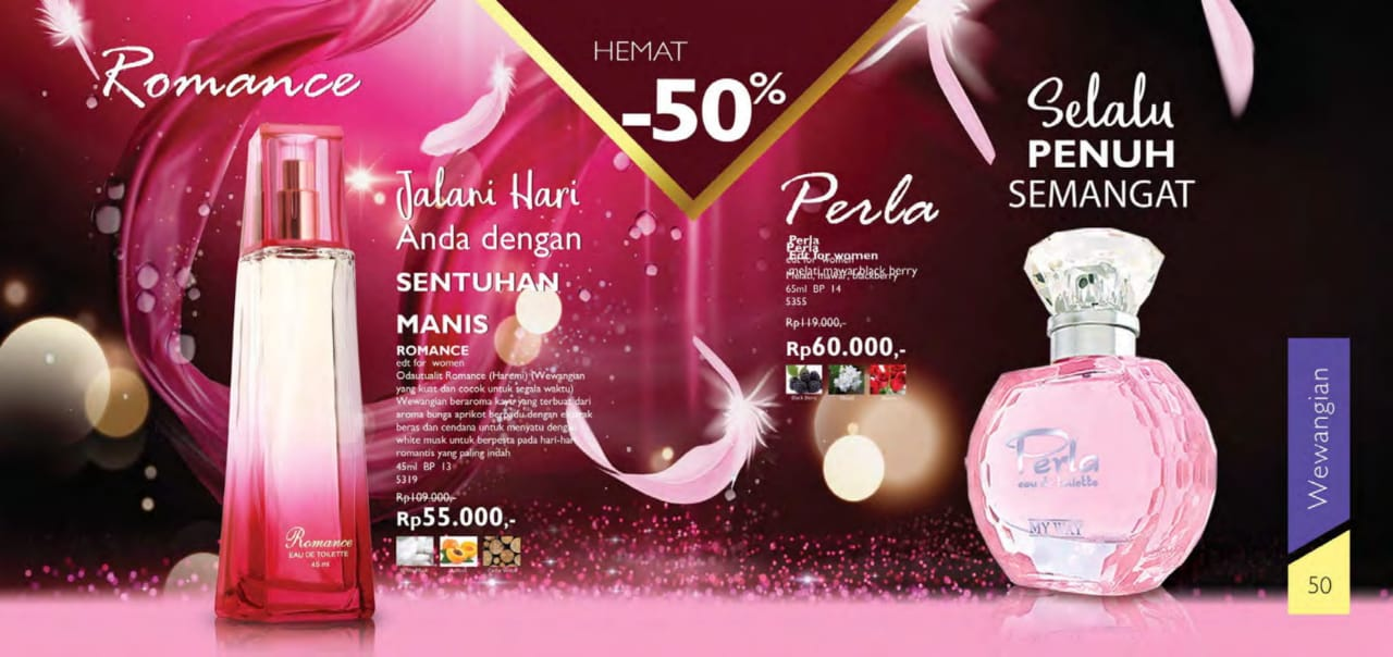 Parfum Romance My way Indonesia