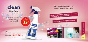 produk clean spray my way indonesia