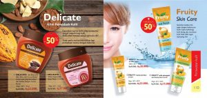 produk delicate fruity skin care my way indonesia